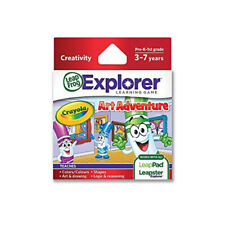 LeapFrog LeapsterGS Kids Creativity Teaching Learning Game Cartridge Crayola Art