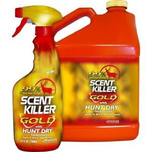 Wildlife Research Scent Killer Gold Gallon Combo