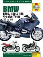 BMW R850 R1100 R1150 4-VALVE - 1993-2006 Haynes Manual 3466 **BRAND NEW**