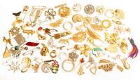 Vintage Pretty Brooch Pins Jewelry Lot*U Pick*Figural*Flowers*Rhinestone ++*A817