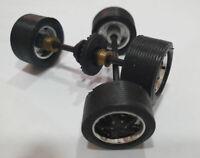 Llantas Gembalia + neumaticos rallados + eje trasero y delantero 28z Cartrix