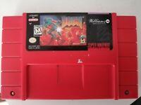 Doom Snes Super Nintendo Game Cartridge Only