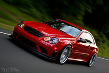 Mercedes Benz CLK W209 C63 Black Series Body Kit