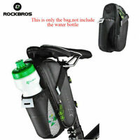 RockBros Cycling Saddle Bag Pannier MTB Road Bike Water Bottle Bag Waterproof