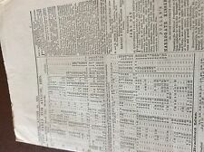 m7-4 ephemra 1885 leeds north railway timetable august train schedules