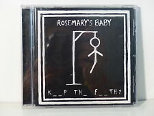 CD ALBUM ROSEMARY'S BABY Keep the faith ? AUTOPRODUIT
