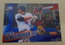 2013/14 JARED SCHLEHUBER Australian Baseball League - Rockland Boulders