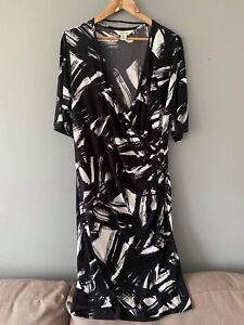 BeMe Cross Over Dress Size 16 NWOT Casual Business