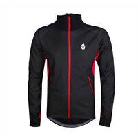 WOLFBIKE Pro Fahrrad Windjacke Softshell Jacke Radjacke L rot und schwarz G5S OE