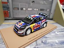 FORD Fiesta New WRC 2017 Rallye GB Wales #1 Ogier Red Bull Autosport Spark 1:43