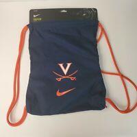 Nike Vapor Virginia Cavaliers Sling Bag Training Gymsack NWT / 723 Cu In