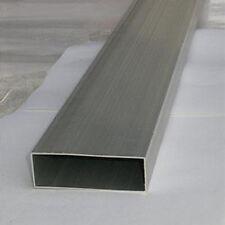 1pc ALUMINIUM RECTANGULAR TUBE 40mm x 20mm x 2mm x 500mm LONG