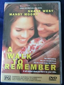 A Walk to Remember - Region 4 DVD - Excellent Condition - FREE POST
