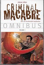Criminal Macabre Omnibus Vol 1 by Steve Niles 2011 TPB Dark Horse 1st Print OOP