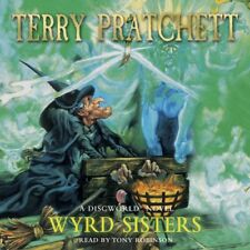 WYRD SISTERS by TERRY PRATCHETT AUDIO BOOK CD  - NEW & SEALED DISCWORLD WEIRD