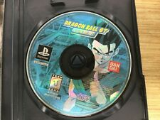 Dragon Ball GT Final Bout PLAYSTAT PS1 Original US Release 1ST EDITION DISC ONLY