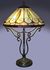 Arroyo Tiffany style Table Lamp Lights