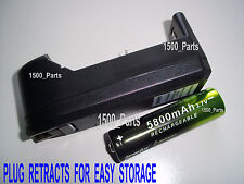 BATTERY AND CHARGER for Atomic Beam USA Flashlight as seen on TV