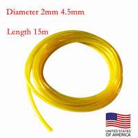 USA 1x50 Foot Tygon Fuel Line Pipe Diameter 2mm 4.5mm Length 15m New Brand