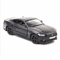 1:36 2015 Ford Mustang Model Car Diecast Toy Vehicle Pull Back Black Kids Gift