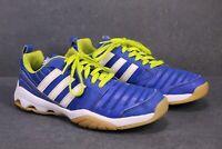 SB525 Adidas GymPlus 3 Damen Sneaker Gr. 39 blau weiß Indoor Sportschuhe