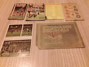 Vintage THE FOOTBALL POP- UP CLEVELAND GOLDEN GOALS PULL-OUT VICTOR