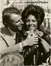 Shirley Bassey & S. Novak in London, Orig. Photo, 1970