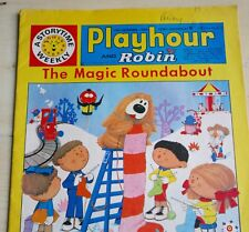 PLAYHOUSE AND ROBIN MAGAZINE 12 DEC 1970  MAGIC ROUNDABOUT, PINKY N PERKY, ETC
