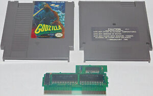 Godzilla: Monster of Monsters Nintendo Entertainment System NES Game TESTED Rare