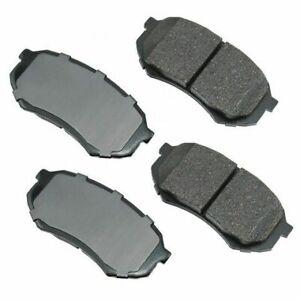 Akebono ACT589 Akebono ProACT Ultra Premium Ceramic Disc Brake Pad Kit