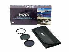 Hoya 62mm Digital Filter Kit 2 II  comprising UV (C), Circular PL, ND8  & Pouch
