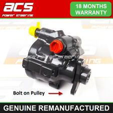 NISSAN PRIMASTAR POWER STEERING PUMP 2001 TO 2009 - RECONDITIONED (Bolt On)