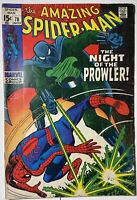 Marvel Comics Amazing Spider-Man #78 1st Appearance of the Prowler Vintage 1969