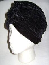 Chapeaux Turban noir pour femme