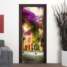 88cm Spanish Garden Door Stickers Self-Adhesive DecalsHome Decoration Art Gift