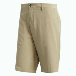 New Adidas Golf Ultimate 365 Shorts Tan Stretch Men's 36 38   $65