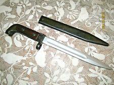 1958 Z0443 1/1st pattern knife with scabbard / for Kalashniko va A - K - 4 - 7