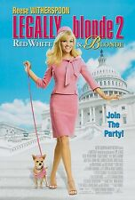 LEGALLY BLONDE 2: RED, WHITE & BLONDE (2003) ORIGINAL MOVIE POSTER  -  ROLLED