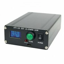 Automatic Antenna Tuner 100W 1.8-50MHz w/ 0.96-Inch OLED Display ATU100 w/ Shell