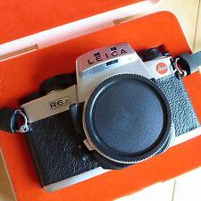Leica R6.2 35mm Fotocamera SLR Film CORPO CROMATO + SCATOLA + CINGHIA + UK MANUALE EX con!!!