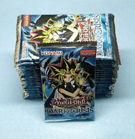 English Yugioh Dark Crisis 24 Booster Packs = Box Quantity Unsearched