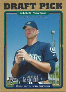 2005 Topps Gold #681 Bobby Livingston FY 0135/2005 Seattle Mariners