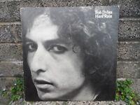 Bob Dylan - Hard rain vintage original LP vinyl record - 1976 CBS music classic