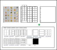 1 Leuchtturm 301127 MÜNZHÜLLEN NH48 NUMIS 17 + weiße ZWL Für Münzen bis 17 mm