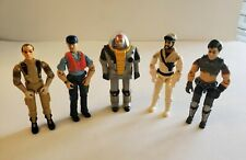 GI Joe Lot of 5 Vehicle Drivers (Grunt, Deep Six, Cutter, Frostbite, & Thrasher)