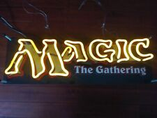 Magic The Gathering Mtg Neon Light Retail Store Display Sign Promotional Promo