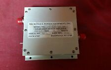 Microwave Power Equipment Solid State Power Amplifier Model Pas 45 33 200400 B2