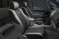 Genuine OEM Toyota Tacoma 2005 - 2008 Graphite Black & Gray Front Seat Covers