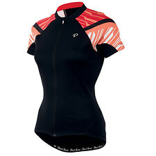 Pearl Izumi Women's Elite Jersey - Black/Living Coral - Medium