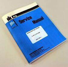 Ih C 200 Gas Engine 544 574 International Tractor Service Shop Repair Manual